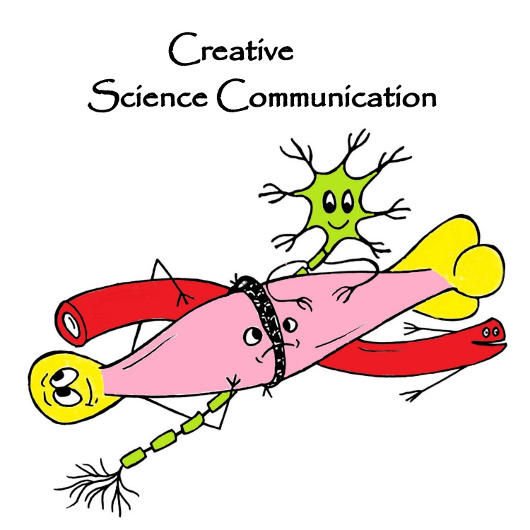 creative science communication logo